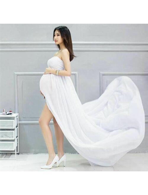 Elegant Maternity Photography Props Pregnancy Clothes Maternity Dresses For preg