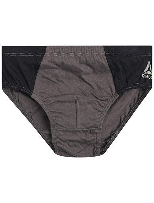 Reebok Men's Low Rise Underwear Briefs (10 Pack)