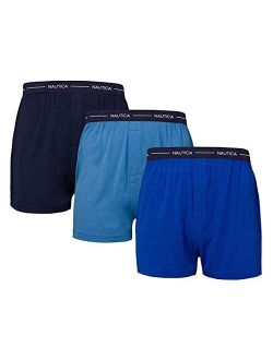 Men's Boxer Modal Cotton Fit Boxer With Functional Fly Tagless, 3 Pack