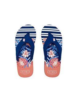 Animal Swish Beach Womens Sandals