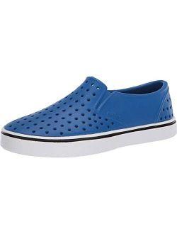 Native Kids Shoes Boy's Miles Slip-On (Toddler/Little Kid) Victoria Blue/Shell White 7 Toddler M
