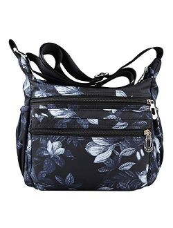 NOTAG Shoulder Bags for Women Nylon Crossbody Bags Waterproof Lightweight Messenger Purses and Handbags