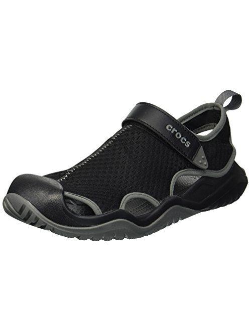 Crocs Men's Swiftwater Mesh Deck Sandal Sport