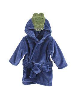 Unisex Baby Plush Animal Face Robe