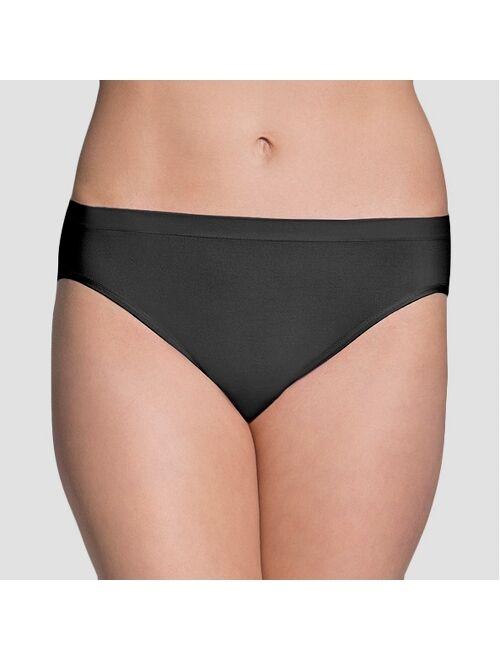 Fruit of the Loom Women's Seamless Bikini 6pk - Colors May Vary