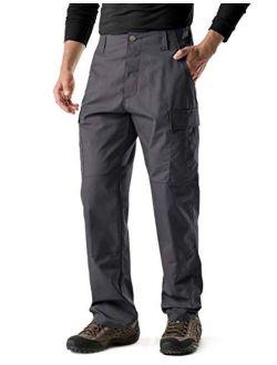 Men's Tactical Pants, Military Combat Bdu/acu Cargo Pants, Water Repellent Ripstop Work Pants, Hiking Outdoor Apparel