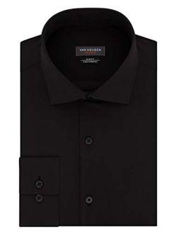 Men's Slim Fit Traveler Stretch Long Sleeve Dress Shirt