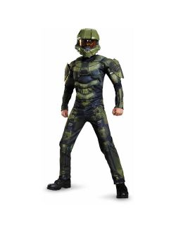 Halo Master Chief Classic Muscle Child Dress Up / Halloween Costume