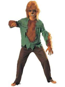 Wolf Man Werewolf Universal Studios Monsters Fancy Dress Halloween Child Costume