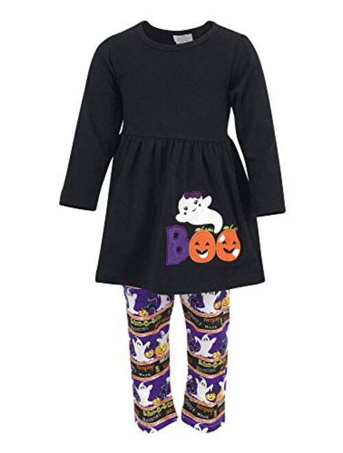 Unique Baby Girls 3 Piece Halloween Legging Set