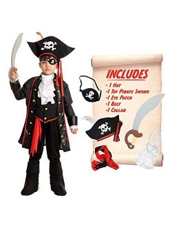 Spooktacular Creations Child Boy Pirate Costume