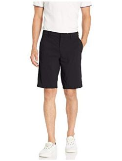 D - Goodthreads Men's 11 Nylon Solid Above Knee Relaxed Fit Short