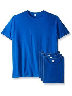 Men's Cotton Solid Crew Neck Crew T-shirt