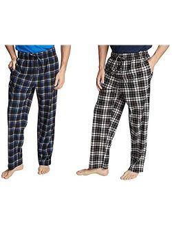 Soft Fleece Pajama Pants Set For Men - 2 Pack