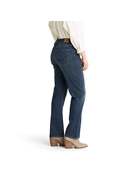 Signature by Levi Strauss & Co. Gold Label Women's Curvy Totally Shaping Straight Jeans