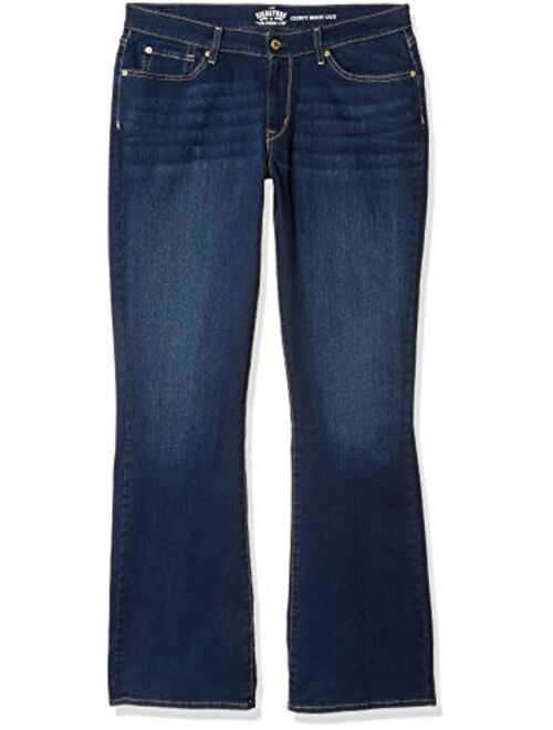 Signature by Levi Strauss & Co. Gold Label Women's Curvy Bootcut Jeans