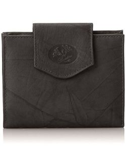 Buxton Heiress Cardex Wallet, Mahogany, One Size