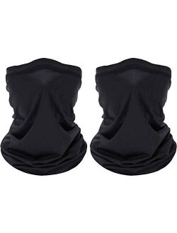 FayTun Neck Gaiter Shield Scarf Bandana Face Mask, Seamless UV Protection Headbands Face Cover Scarf