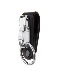 Liangery Belt Keychain Leather Belt Loop Key Holder Belt Key Chain Clips with Detachable Keyring for Men