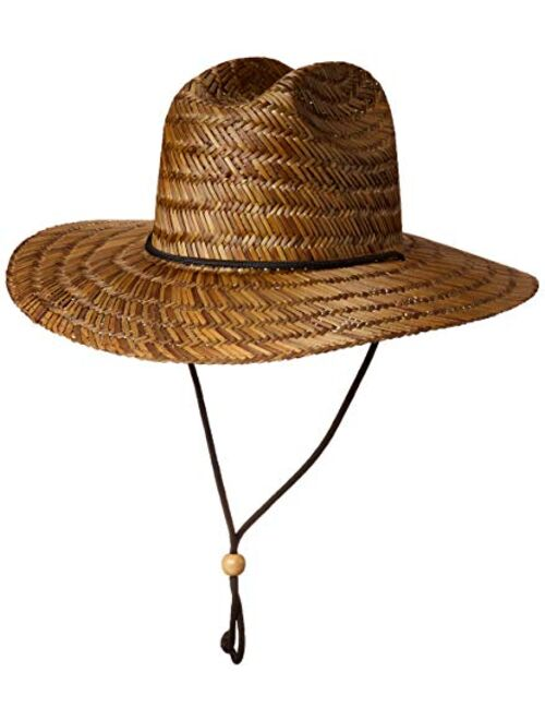 BKLYNSURF Men's Straw Sun Classic Beach Hat Raffia Wide Brim