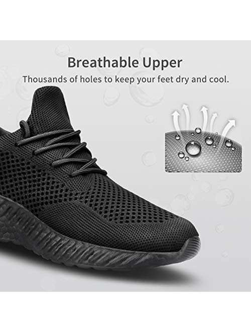 Flysocks Womens Slip On Walking Shoes Lightweight Breathable Sneakers Fashion Sports Gym Athletic Shoes