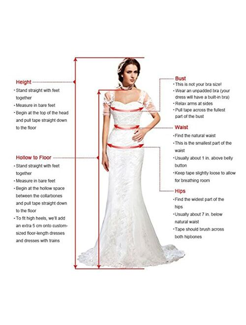 Andybridal Women's Country High Low Halter Chiffon Bridesmaid Dress Western Wedding Guest Dress