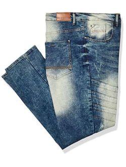 Men's Big And Tall 9180 Signiture Skinny Fit Fashion Denim Pants