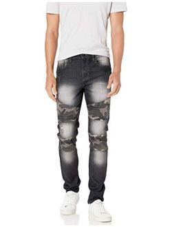 Men's 9180 Signature Skinny Fit Fashion Denim Pants