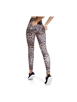 Women Yoga Pants High Waist Scrunch Ruched Butt Lifting Workout Leggings Sport Fitness Gym Push Up Tights