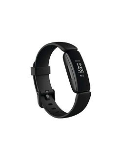 Inspire 2 Health & Fitness Tracker With A Free 1-year Fitbit Premium Trial, 24/7 Heart Rate, One Size (s & L Bands Included)