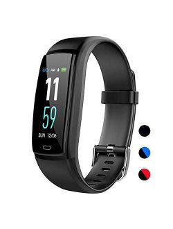 Mgaolo Fitness Tracker,Activity Health Tracker Waterproof Smart Watch Wristband with Blood Pressure Heart Rate Sleep Monitor Pedometer Step Calorie Counter for Android an