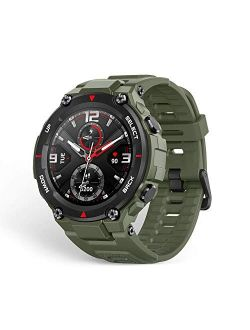 Amazfit T-Rex Smartwatch, Military Standard Certified, Tough Body, GPS, 20-Day Battery Life, 1.3'' AMOLED Display, Water Resistant, 14-Sports Modes