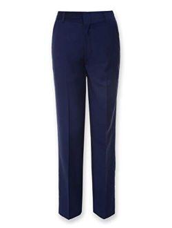 Boys' Flat Front Suit Dress Pant