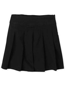 Girls' Uniform Pleated Skort