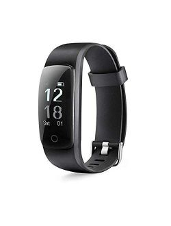 MICROTELLA Fitness Tracker, Activity Watch Waterproof, Smart Band with Step Counter, Sleep Watch, Calorie Counter Watch, Fitness Tracker HR, Smart Fit Bit Band for Androi
