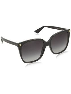 Gg0022s Black/grey One Size