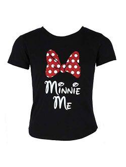 Minnie Mouse Glitter Bow Women's T-shirt