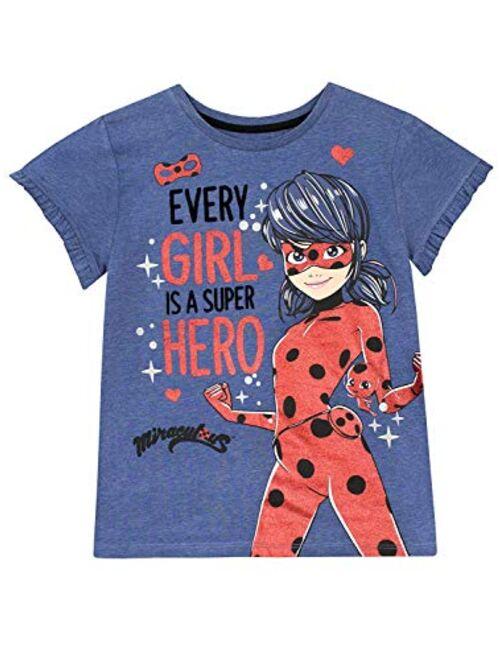 Miraculous Ladybug Girls' Lady Bug T-Shirt
