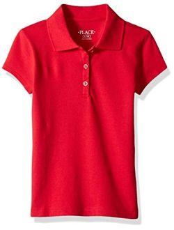 Girls' Uniform Pique Polo