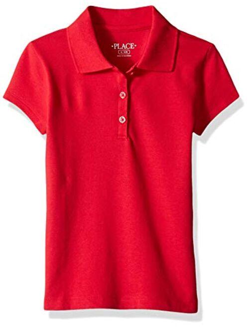The Children's Place Girls' Uniform Pique Polo