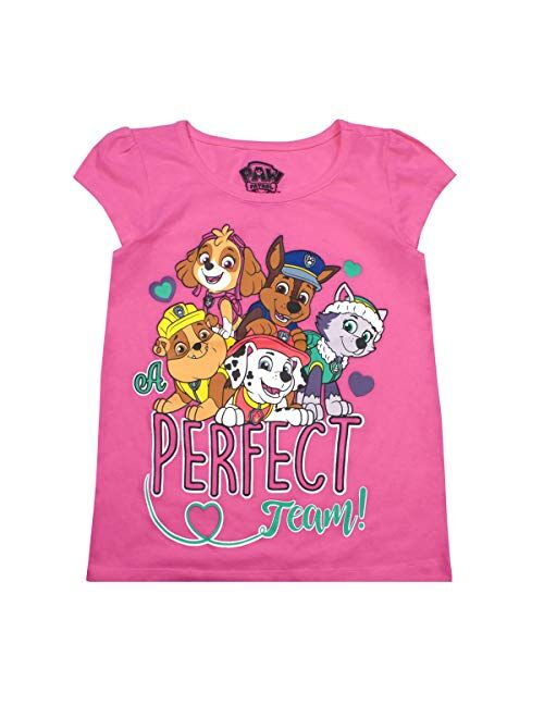 Nickelodeon Paw Patrol Girls and Toddlers 3-Pack T-Shirts