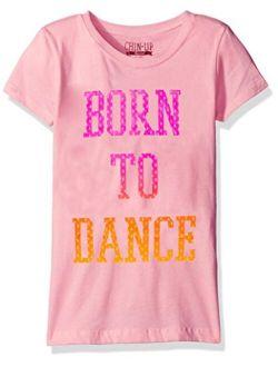 Fifth Sun Girls' Little Girls' Dance Inspired Graphic T-Shirt
