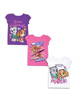 Paw Patrol Girls 3 Pack T-Shirt Bundle
