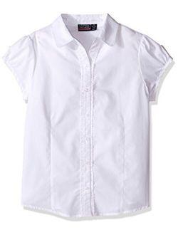 Girls' Short Sleeve Blouse