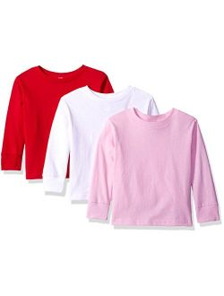 Clementine Apparel Long Sleeve T-Shirts for Girls MG-3311-3pk