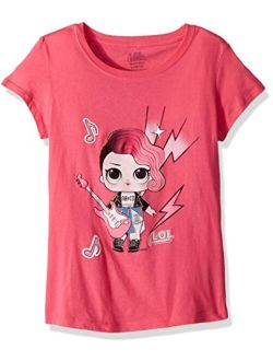 L.O.L. Surprise! Girls' Little Glee Club Rocker Short Sleeve T-Shirt