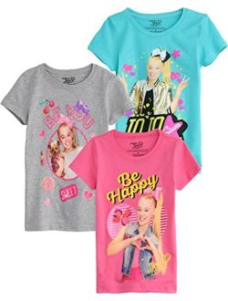 Nickelodeon JoJo Siwa Short-Sleeve T-Shirt 3-Pack