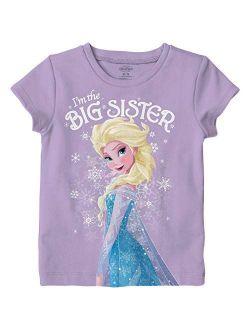 Frozen Elsa I'm The Big Sister Kids T-shirt