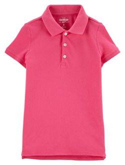 Girls' Short Sleeve Uniform Polo