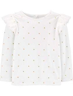 Girls' Toddler Knit Fashion Top